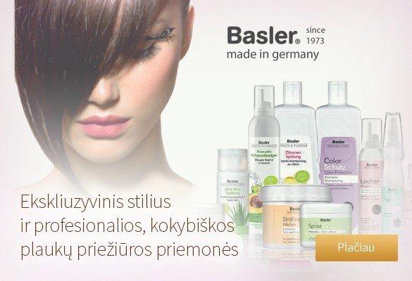 Profesionali priežiūra plaukams