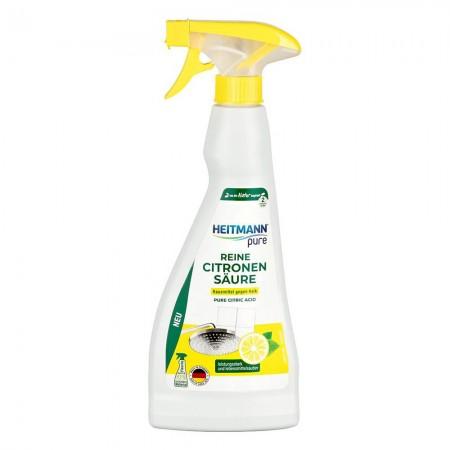 HEITMANN Natur pure citrinos rūgšties valiklis (purkštukas) 500 ml