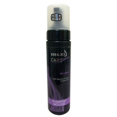 KERALOCK šampūnas-putos didinantis apimtį  200 ml