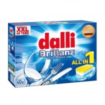 dalli Brillanz indaplovės tabletės all in 1 40 vnt.