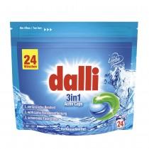 dalli Activ 3 in 1 skalbimo kapsulės 24 vnt.