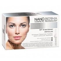 NanoDerma WTT10 - balinimo ampulės 10x2 ml