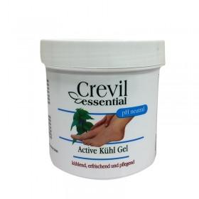 CREVIL gaivinantis kojų gelis su mentoliu ir kamparu 250 ml