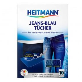HEITMANN dažomosios skalbinių servetėlės (mėlynos) 10 vnt.