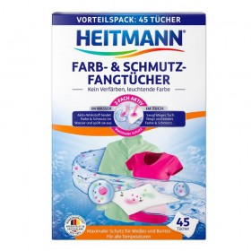 HEITMANN universalios skalbinių servetėlės (45 vnt.)